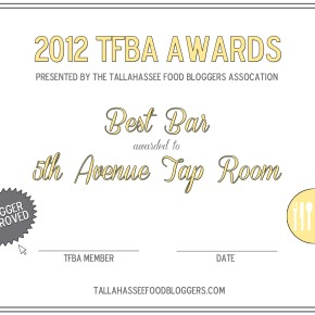 2013 TFBA Award Winners: Best Appetizer to Best Hamburger
